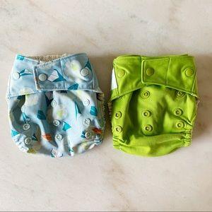 GroVia Snap Shell Hybrid Cloth Diapers